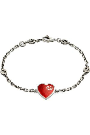 Gucci Interlocking G heart bracelet