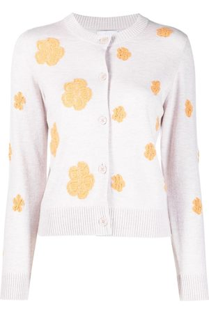 Barrie Floral-print button-up cardigan