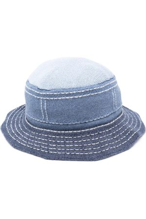 Barrie Contrast stitching bucket hat