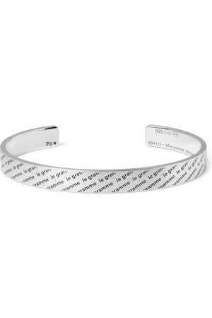 Le Gramme Le 21 Logo-Engraved Brushed Sterling Cuff