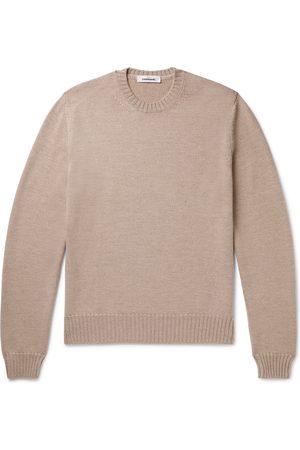 Saman Amel Homem Camisolas sem capuz - Slim-Fit Merino Wool Sweater
