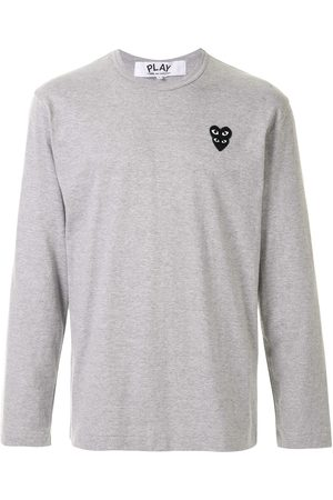 Comme des Garçons Homem T-shirts & Manga Curta - Logo patch T-shirt
