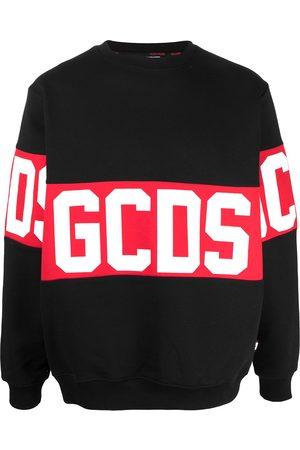 GCDS Large logo print jumper