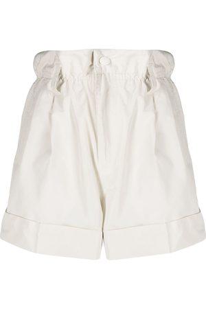 Moncler Senhora Calções - Paperbag waist shorts