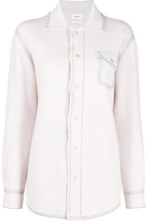Barrie Senhora Camisas - Cashmere-cotton blend shirt