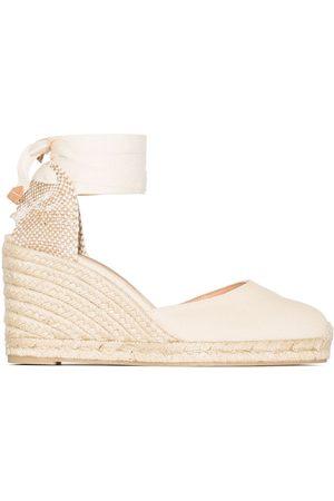 Castaner Senhora Sandálias - Carina 80mm ankle-tie wedge sandals