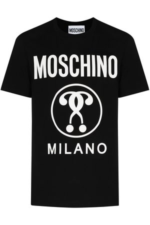 Moschino Double Question Mark crew-neck T-shirt