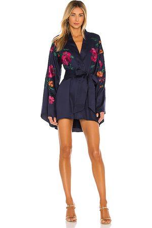 House of Harlow Senhora Quimonos - X REVOLVE Mika Kimono Mini Dress in - . Size L (also in M, S, XL, XS, XXS).