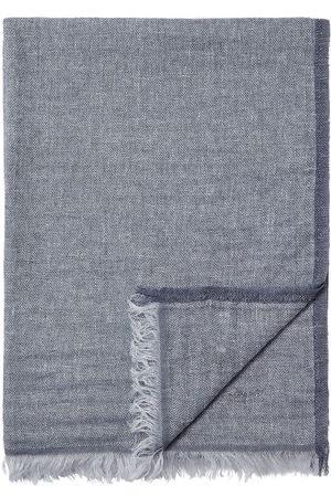 Ermenegildo Zegna Homem Cachecóis & Echarpes - Embroidered-logo scarf