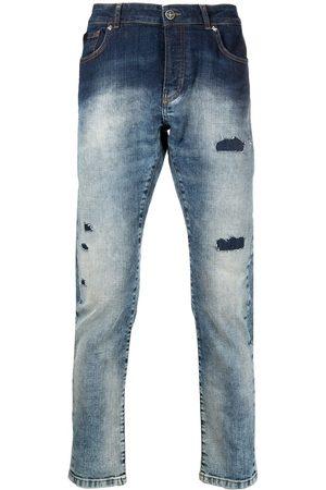 John Richmond Homem Slim - Mick distressed slim-fit jeans