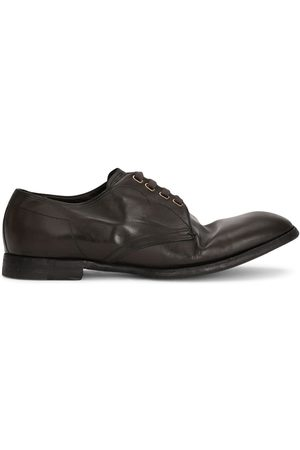 Dolce & Gabbana Homem Sapatos - Dented style derby shoes