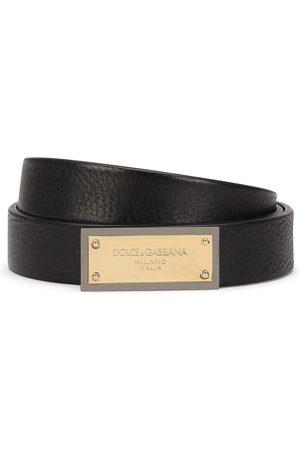 Dolce & Gabbana Homem Cintos - Logo plaque belt