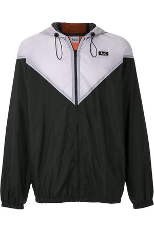 Àlg Colour-block windbreak jacket