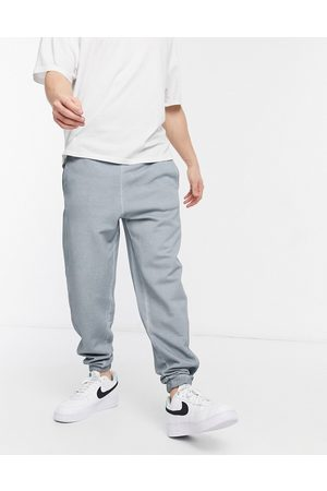 ASOS Co-ord oversized joggers in dark grey oil wash