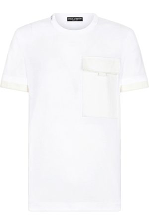 Dolce & Gabbana Flap-pocket short-sleeve T-shirt