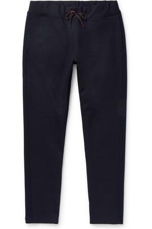 Loro Piana Homem Calças Justas - Holburn Tapered Stretch Wish Virgin Wool Sweatpants