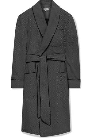 Paul Stuart Homem Roupões de Banho - Piped Printed Cotton Robe