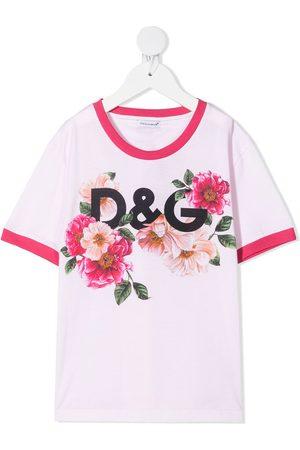 Dolce & Gabbana Floral-print T-shirt