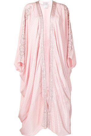 Camilla Crystal-embellished draped-design jacket