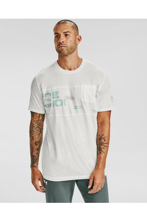 Under Armour Homem T-shirts & Manga Curta - Pocket T-shirt White