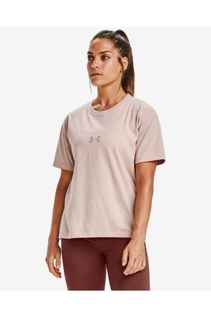 Under Armour Wordmark Graphic T-shirt Pink