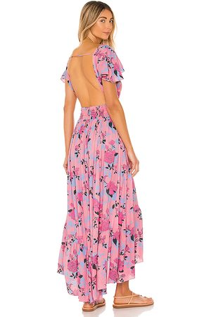 TIARE HAWAII New Moon Maxi Dress in - Pink. Size M/L (also in S/M).