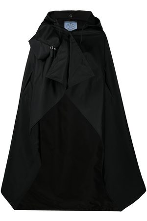 Prada Re-Nylon gabardine cape