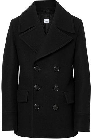 Burberry Homem Casacos de Inverno - Wool Blend Pea Coat