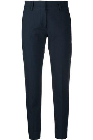 PIAZZA SEMPIONE Slim fit cigarette trousers