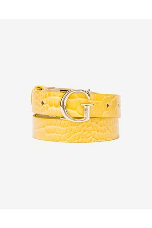 Guess Corily Belt Yellow