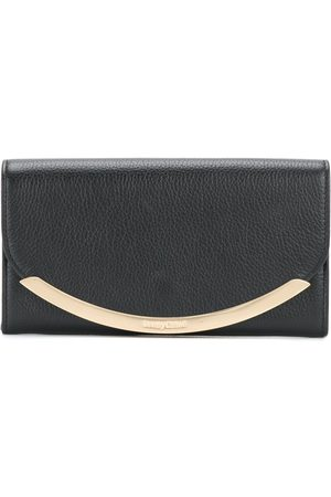 See by Chloé Metallic flap wallet