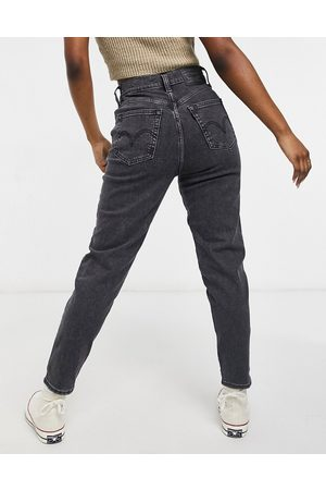Levi's Levi's high waisted tapered jeans-Black