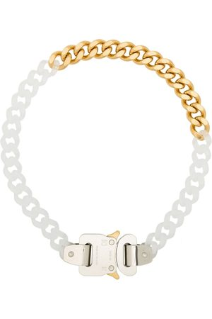 1017 ALYX 9SM Homem Colares - Two-tone chain-link necklace