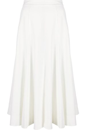 Jil Sander Senhora Saias de Pregas - Pleated A-line skirt