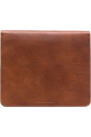Brunello Cucinelli Zipped laptop bag