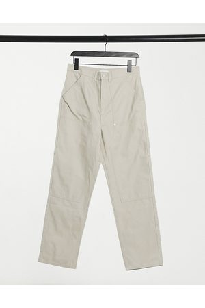 Weekday Darien Chino Trouser in beige