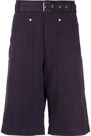 Isabel Marant Belted knee-length shorts