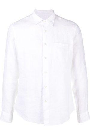 PENINSULA SWIMWEAR Homem Formal - Crinkled effect chest pocket shirt