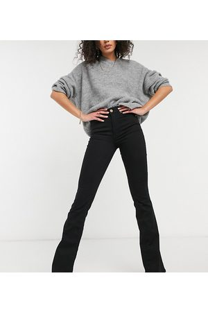 River Island Tall Flared jeans in black