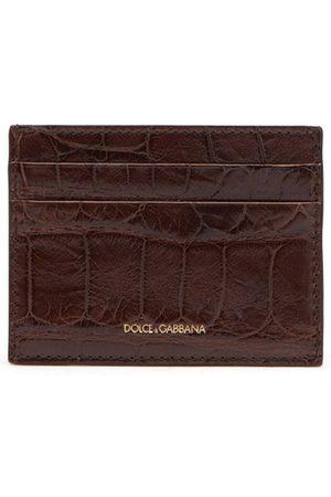 Dolce & Gabbana Alligator leather cardholder