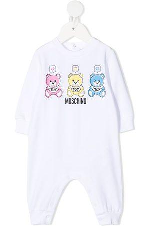 Moschino Teddy bear-print pyjamas