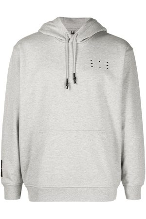 mcq swallow Logo patch hoodie