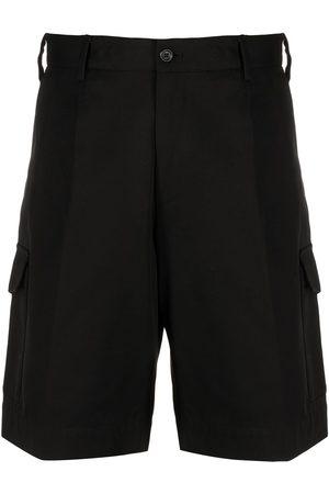 Dolce & Gabbana Homem Calções - High-rise cotton cargo shorts