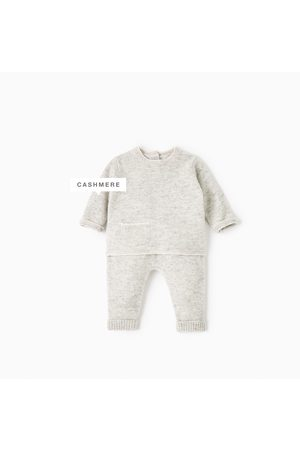 Criança Tops de Cavas - Zara CONJUNTO CAXEMIRA