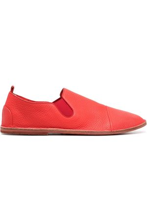 MARSÈLL Leather slip-on loafers