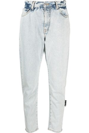 OFF-WHITE Senhora Tapered - Tapered cropped jeans