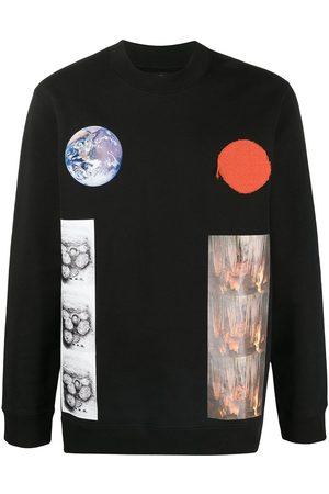 RAF SIMONS Homem Camisolas - Earth planet sweatshirt