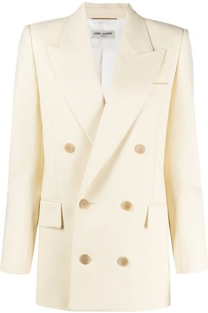 Saint Laurent Peaked lapels double-breasted blazer