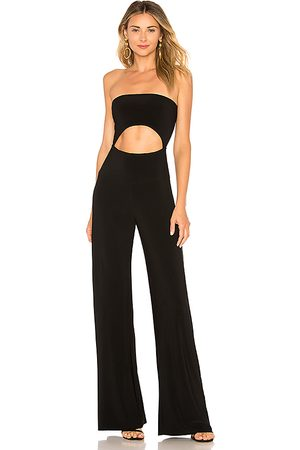 Norma Kamali Strapless Cut Out Jumpsuit in - . Size L (also in M, S, XS, XXS).