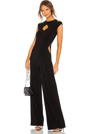 Norma Kamali Sleeveless Cut Out Jumpsuit in - . Size S (also in XS, XXS).